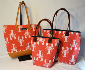 Image featuring the Pemaquid Tote, Maine Tote and Ruby Tote Bag.