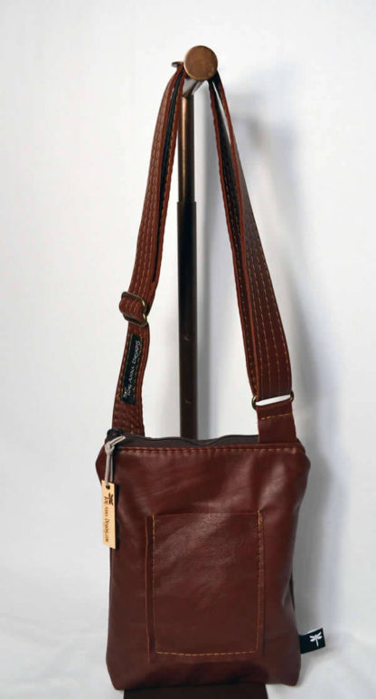 Heidi All Leather Crossbody by Tori Anna Designs.