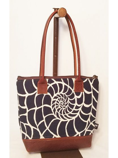 Tori bag in the nautical fabriy by Tori Anna Designs.